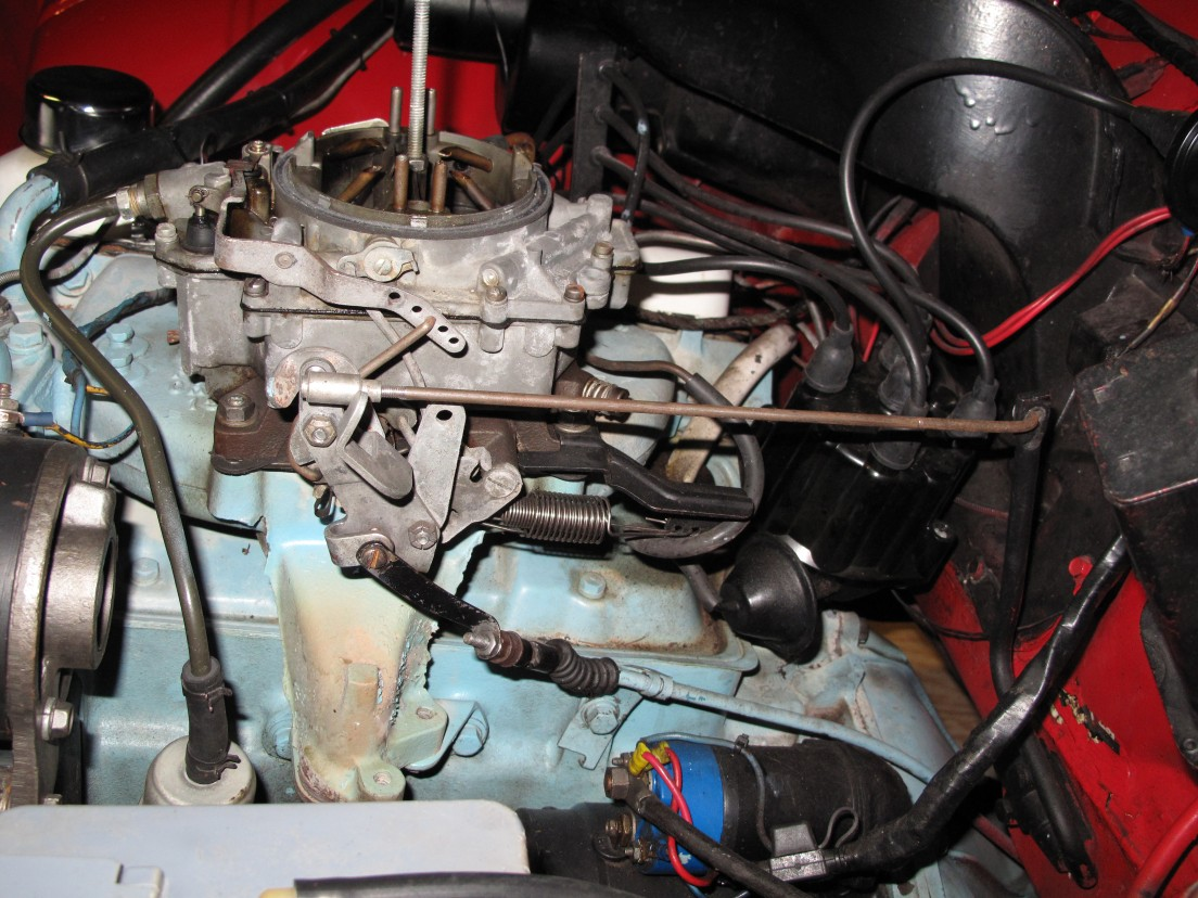 Linkage closeup for an early pontiac slant 4 cylinder engine it is view full size view slideshow publicscrutiny Images